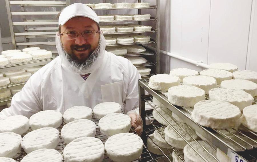 Вячеслав Ковтун, совладелец Сыр & Beer, на производстве