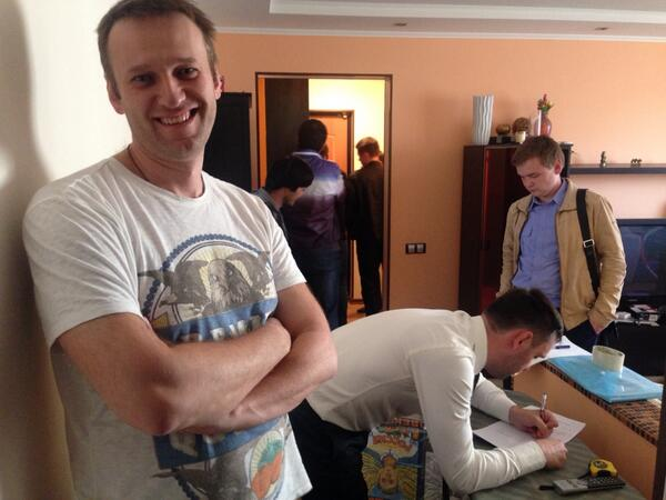 Обыск у Алексея Навального