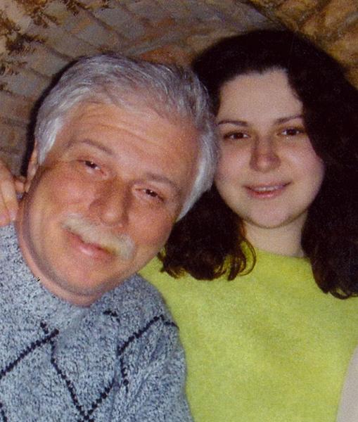 Бадри и Лиана Патаркацишвили. 2005 год