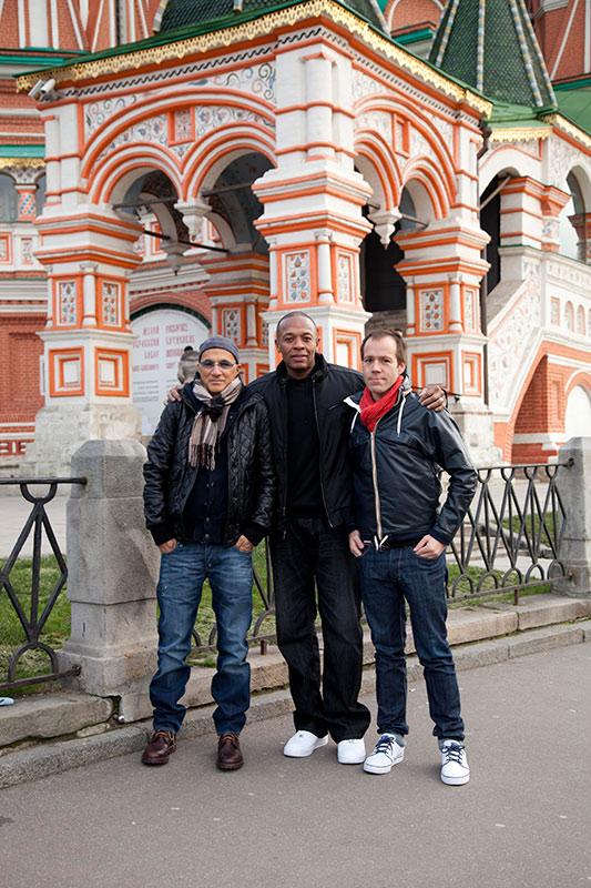 Джимми Айовин,  Dr.Dre и Люк Вуд