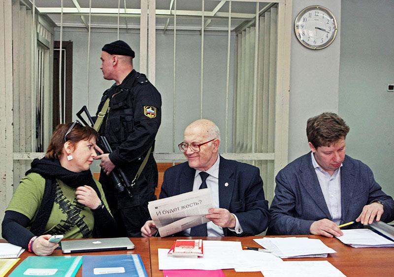Ольга Романова, Юрий Костанов и Алексей Козлов