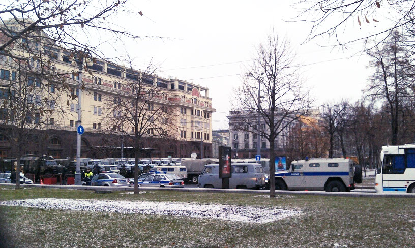 Москва. Площадь Революции.