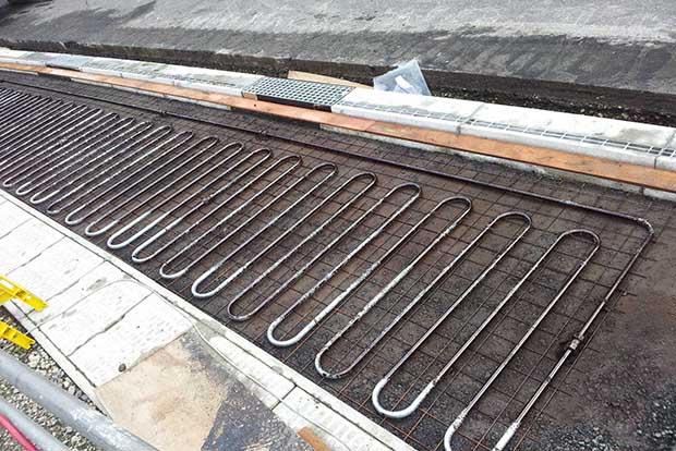 В Японском Саппоро под дорогами проложены системы обогрева
