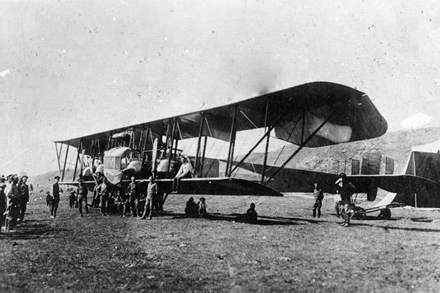 Первый в мире тяжелый бомбардировщик «Илья Муромец» производства РБВЗ