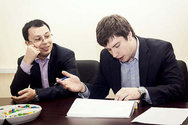 Саакян Григорий – генеральный директор, Землянский Александр - управлящий партнер компании