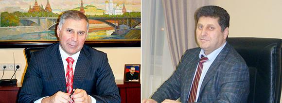 Братья Игорь Исаев (Ибрагим Гаджиев) и Алиасхаб Гаджиев — владельцы Покровской плодоовощной базы