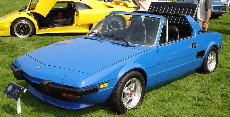 Первый автомобиль Марка Кьюбана — Fiat X19