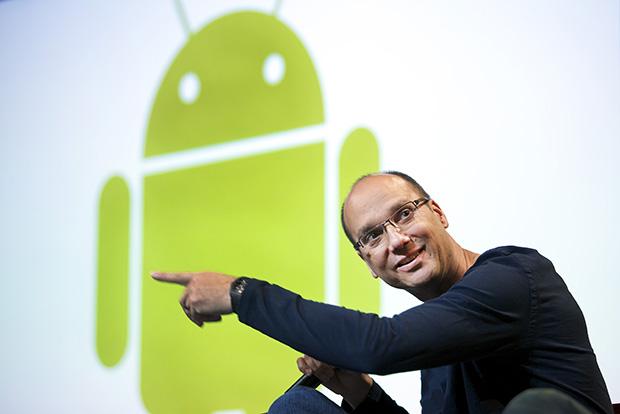 Руководителя команды разработчиков Android Энди Рубина сравнивали с «железным человеком» Тони Старком