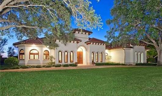 Резиденция Билла Гейтса в Веллингтоне, штат Флорида