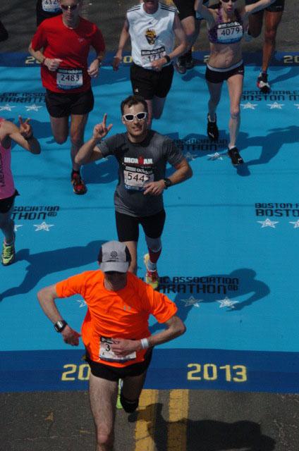 Даниил Бронштейн, участник Бостонского марафона-2013