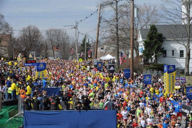 Бостонский марафон. 15 апреля 2013 года