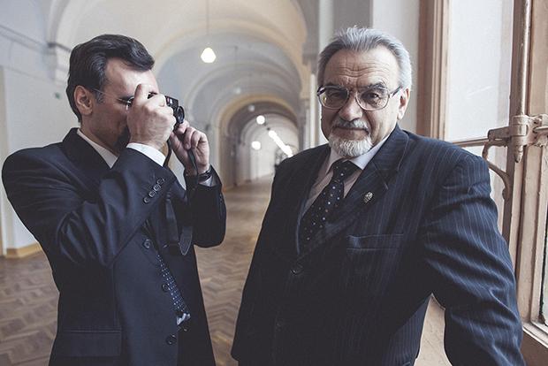 Дмитрий и Петр Зегжда (справа)