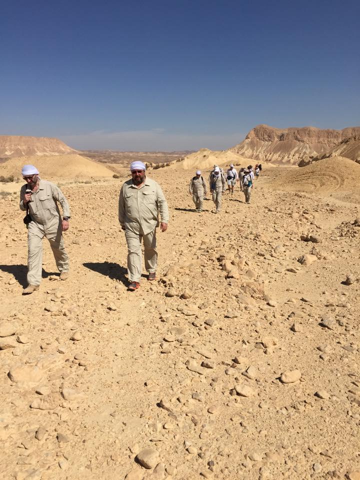 Ежегодное паломничество РЕК по израильской пустыне, приуроченное к празднику Песах, 2015 год