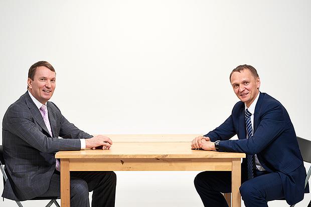 Дмитрий Костыгин (слева) и Сергей Колесников
