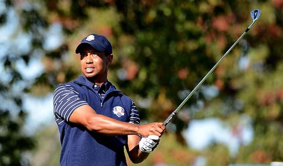 Главная звезда PGA Tour Тайгер Вудс