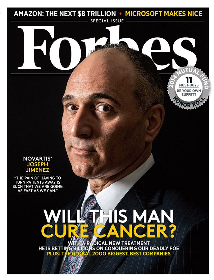 Джозеф Хименес на обложке американского Forbes