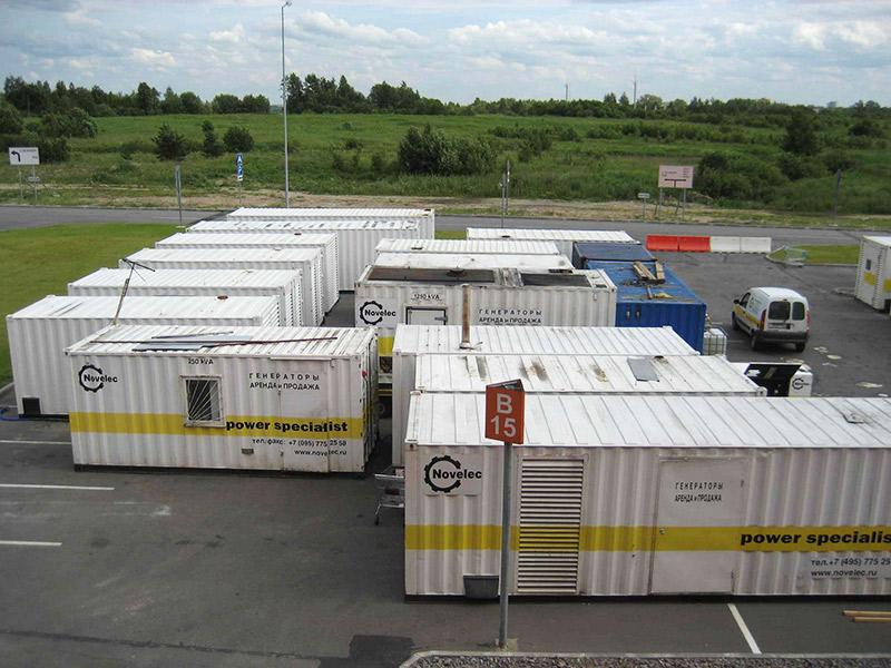Мобильные дизельные электростанции стали главным оружием Пономарева в войне против IKEA