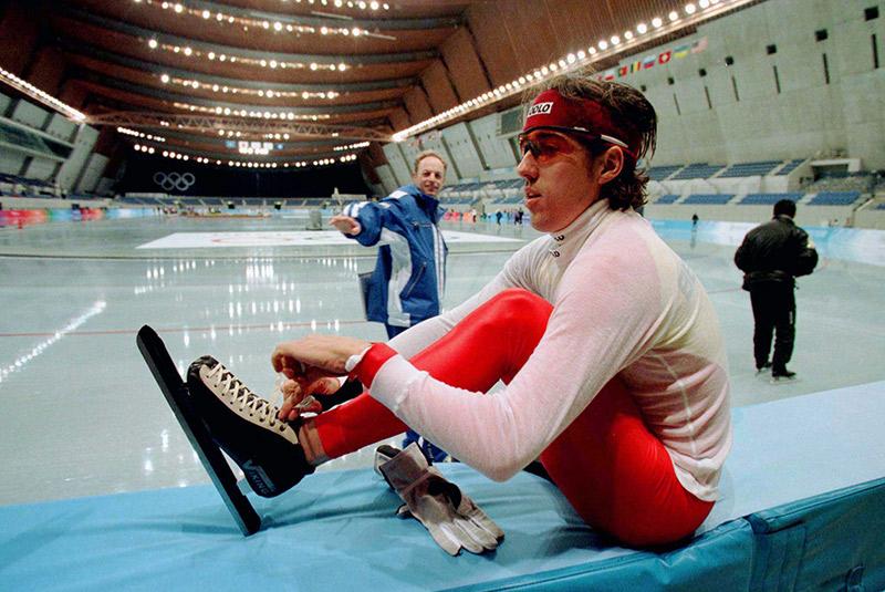 Хоккейную арену Aqua Wing после Игр в Нагано переоборудовали в бассейн: получились две ванны с длиной дорожек 50м и 25м