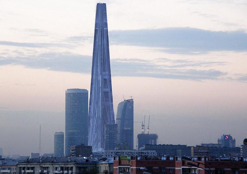 Так должна была выглядеть башня «Россия», которую по заказу Шалвы Чигиринского проектировал сэр Норман Фостер