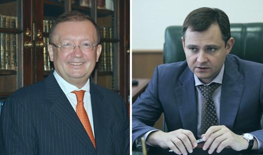 Александр Яковенко и Юрий Слюсарь