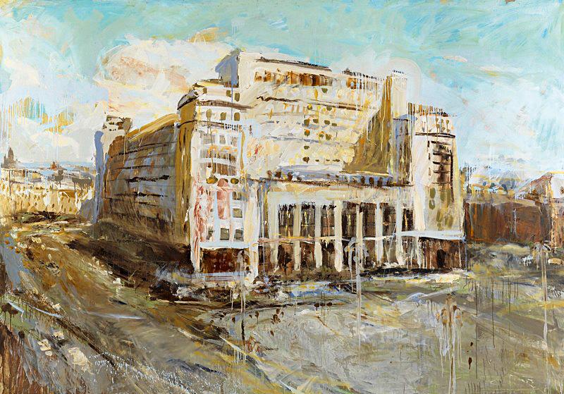«Гостиница «Москва» (1992). $132 000, MacDougall's, 2015