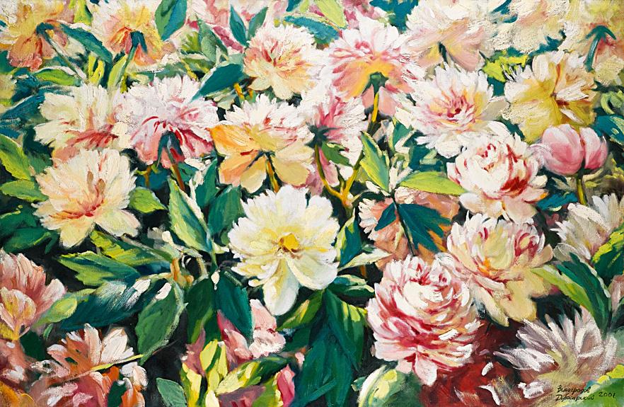 «Пионы» (2001). $60 000, Sotheby's, 2013