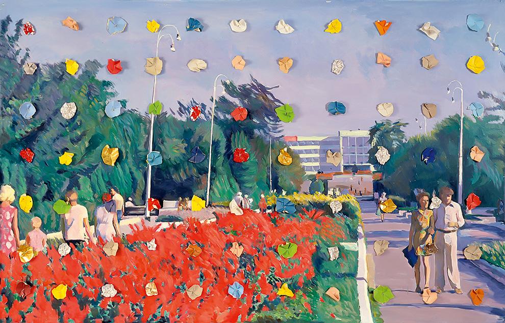 «Праздники №6» (1987). $1,5 млн, Sotheby's, 2013
