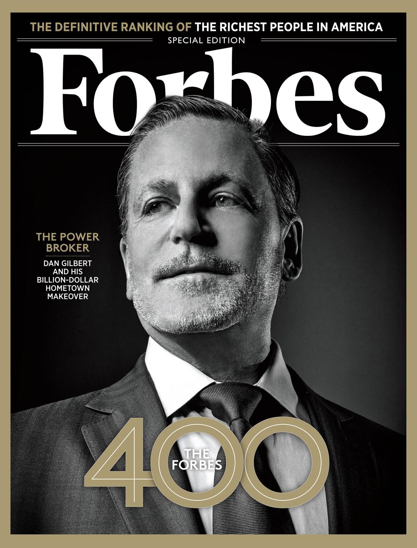 Дэн Гилберт в октябрьском номере американского Forbes