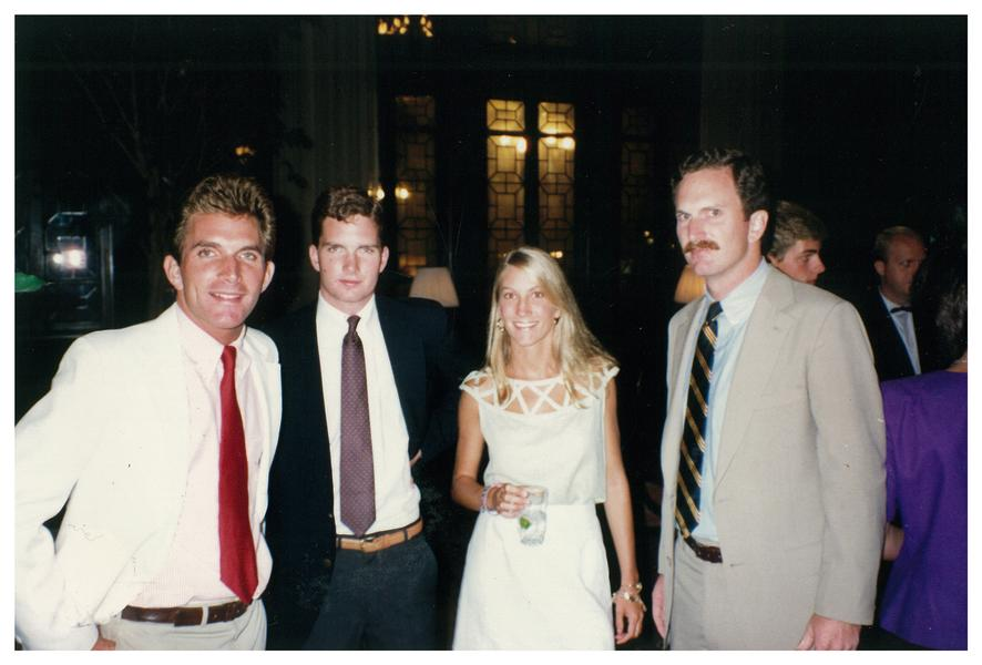 Пятое поколение династии -- дети Эрика Стро в 1987 году (слева направо): Чарли, Уитни, Франсис и Бобби