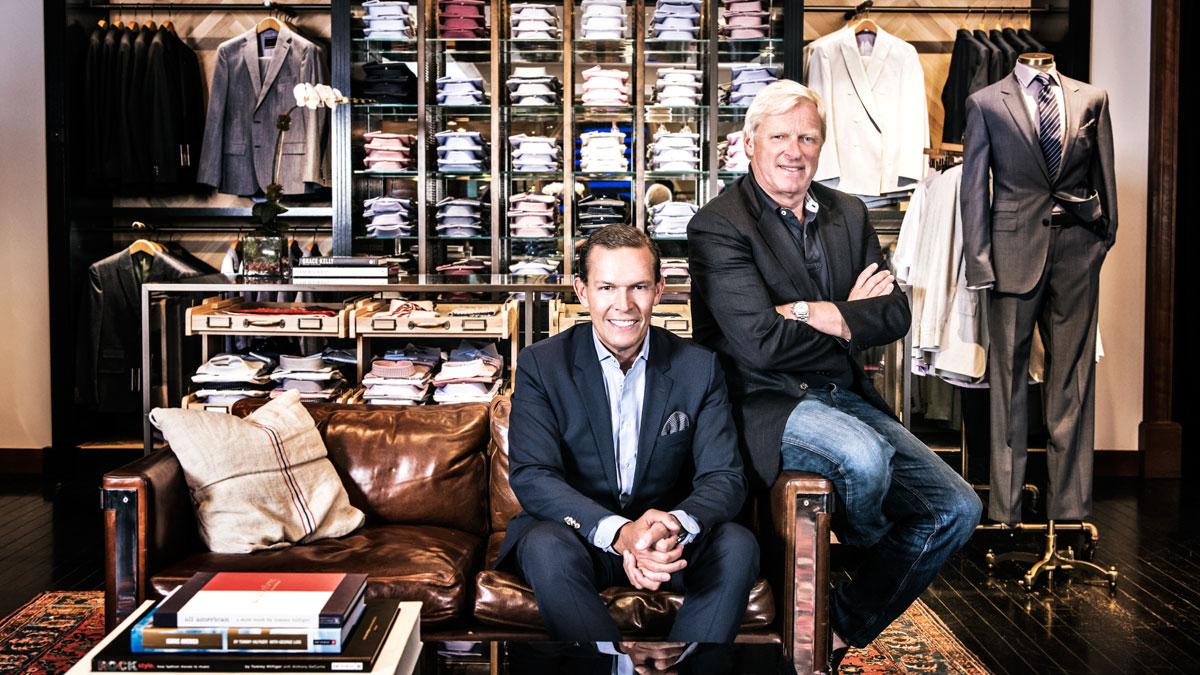 Дэниэл Гридер и Фред Геринг -- главные творцы бизнес-чуда Tommy Hilfiger
