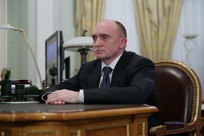 Борис Дубровский на встрече с Владимиром Путиным, 15 января