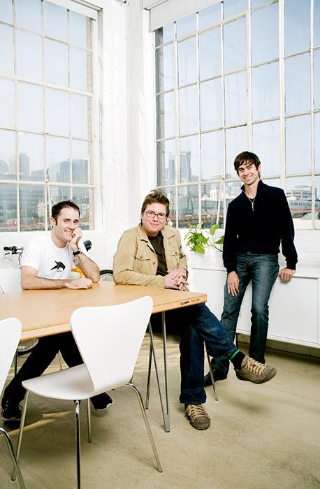 Основатели Twitter Эван Уильямс, Биз Стоун и Джек Дорси. После IPO Уильямс станет миллиардером