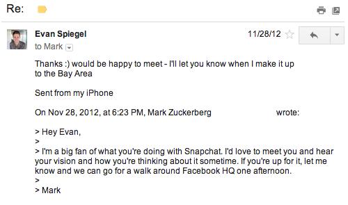 Скриншот своей переписки с Цукербергом Шпигель после публикации этой статьи выложил в открытый доступ: на самом деле он не требовал от гендиректора Facebook встречи на своей территории