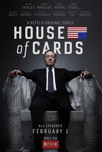 «Карточный домик» – первый сериал-номинант «Эмми», к производству которого телеканалы не имели никакого отношения