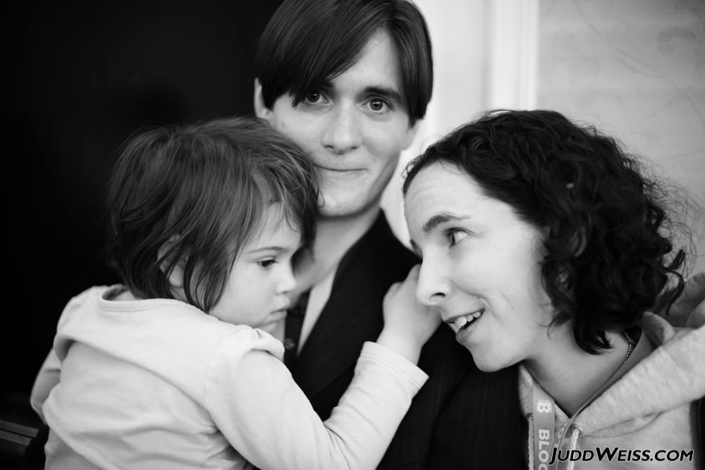 Основатель проекта «Свободный штат» Джейсон Соренс с семьей