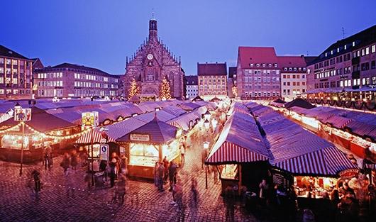 Ярмарка в Нюрнберге -- визитная карточка немецкого Рождества