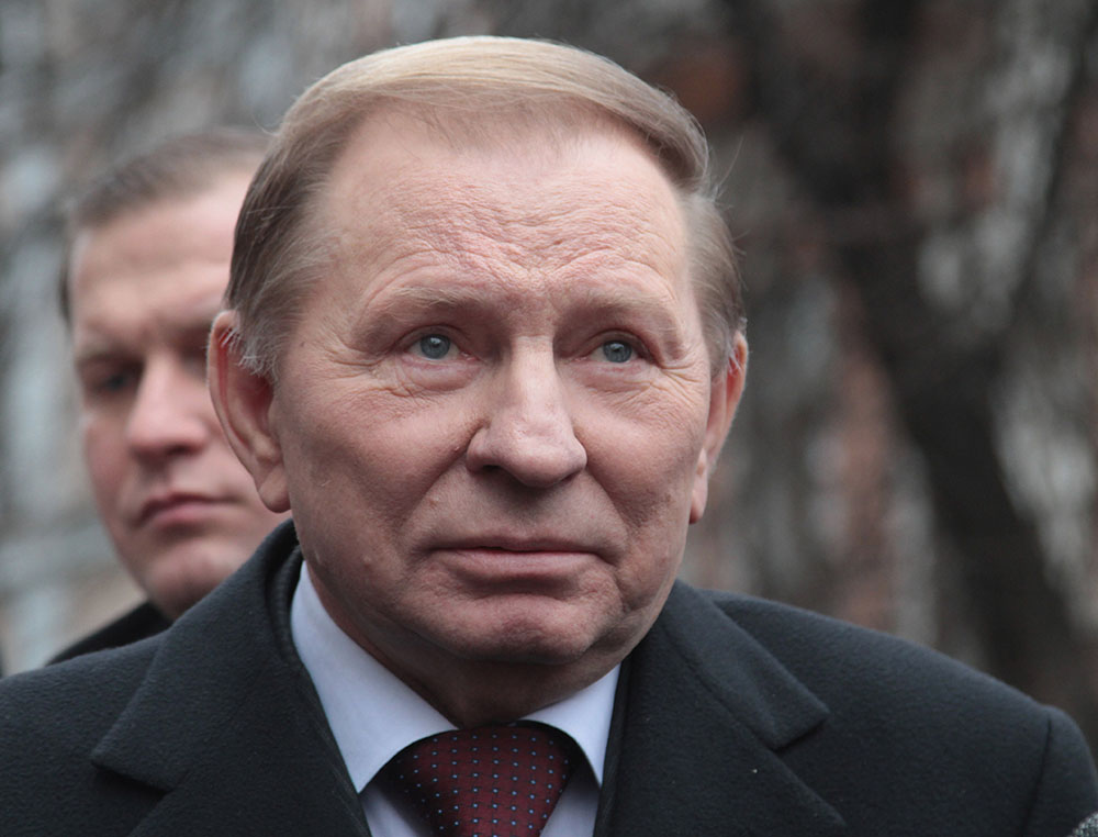Бывший президент Украины Леонид Кучма - тесть Пинчука