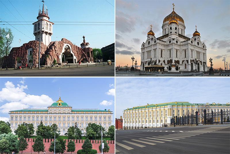 Столичные проекты «Интарсии»: Московский зоопарк, Храм Христа Спасителя, Кремль, Оружейная палата