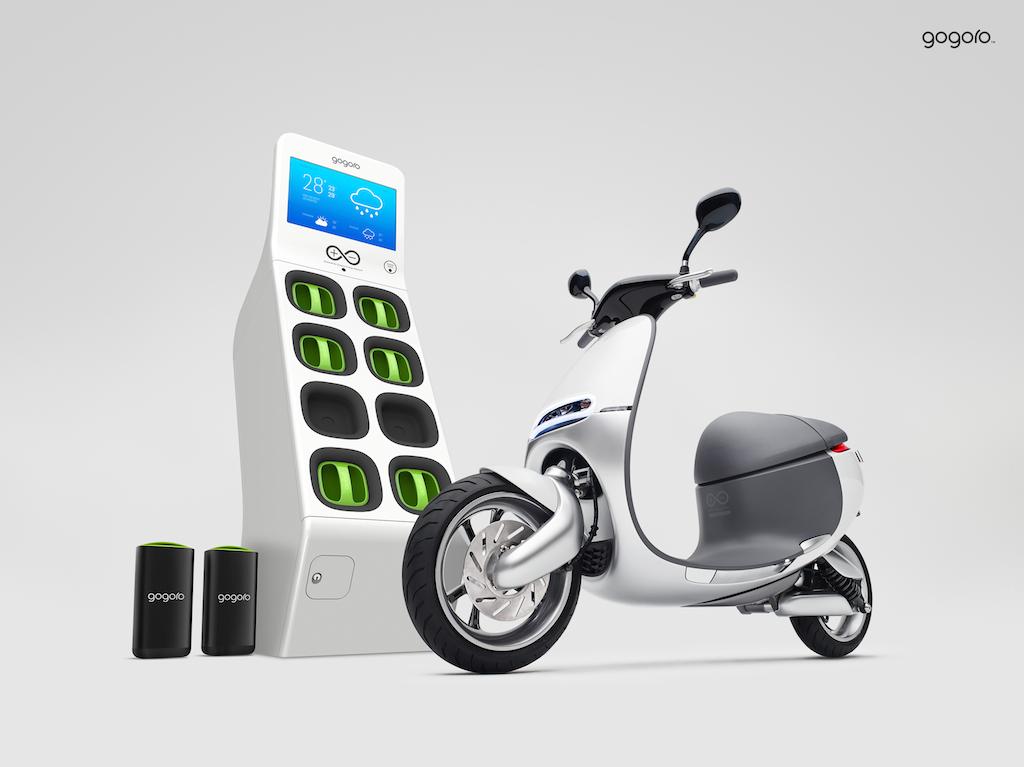 Так будут выглядеть автоматы по аренде батарей для Smartscooter