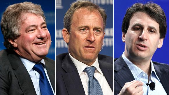 Управляющие Apollo Леон Блэк, Джошуа Харрис и Марк Роуэн (слева направо) вовремя распознали перспективы нефтехимической индустрии