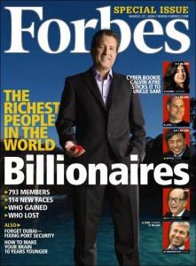 Келвин Эйр на обложке Forbes