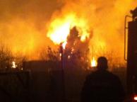 Пожар в Щелковском районе