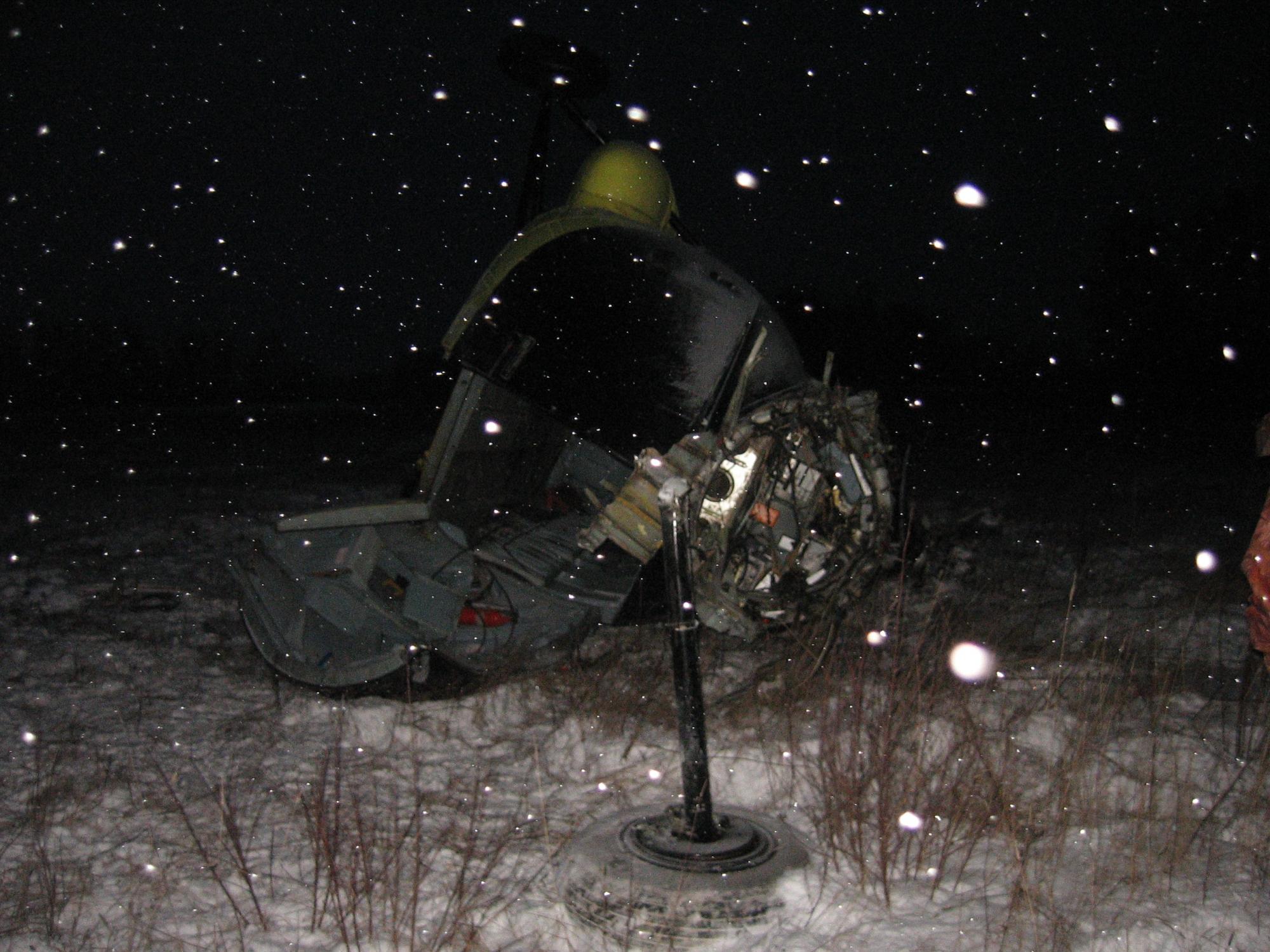 Вертолет Ми-8 разбился в Омской области