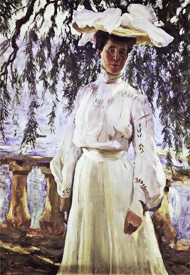 Лев Бакст. Портрет Л.П. Гриценко. 1903, Государственная Третьяковская галерея, Москва
