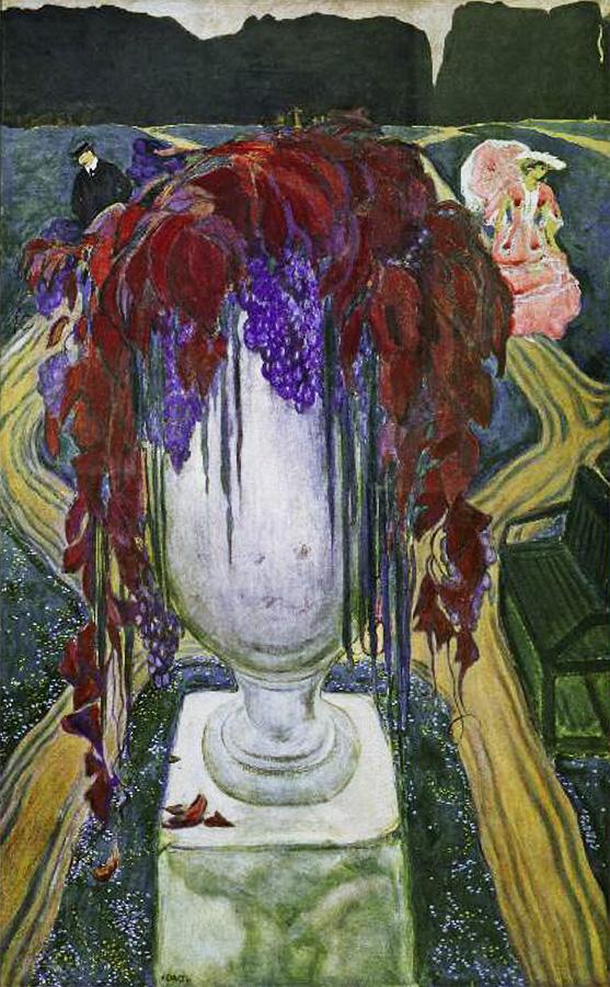 Лев Бакст. Ваза (Автопортрет). 1906, Государственный Русский музей. Санкт-Петербург