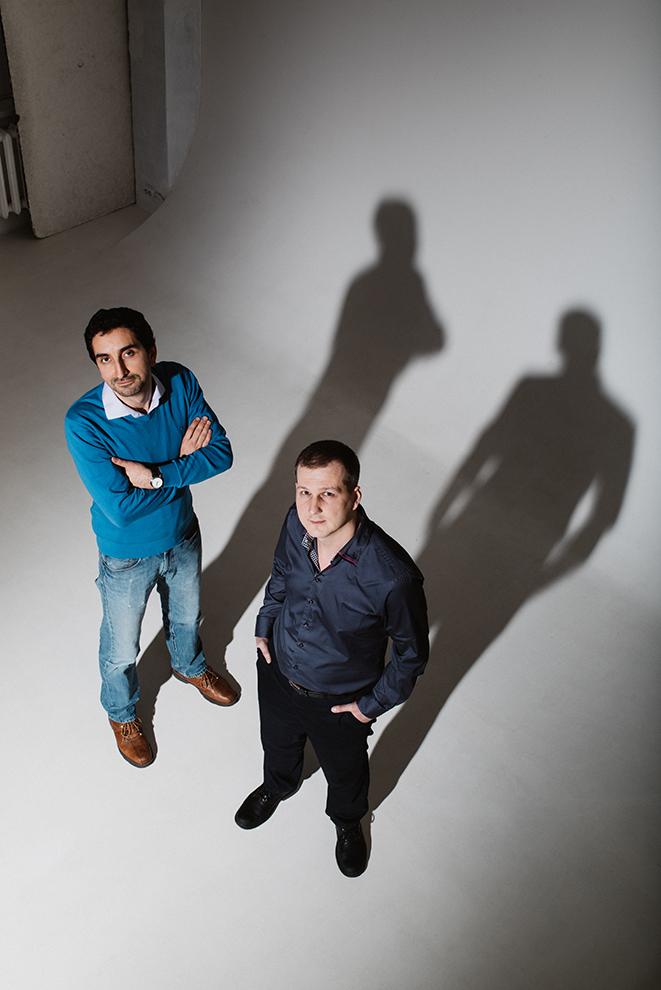Бизнес Виктора Пахомова (справа) и Оганеса Геворкяна - съемки на высокой скорости с большой высоты