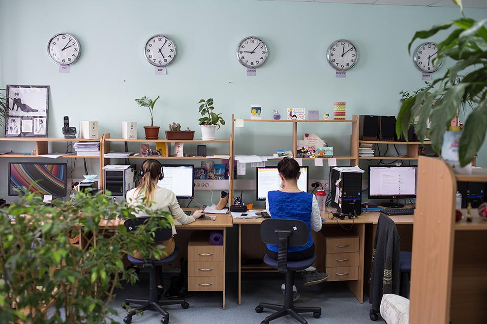 В iSpring больше ста сотрудников. Многие из них — бывшие студенты Юрия Ускова