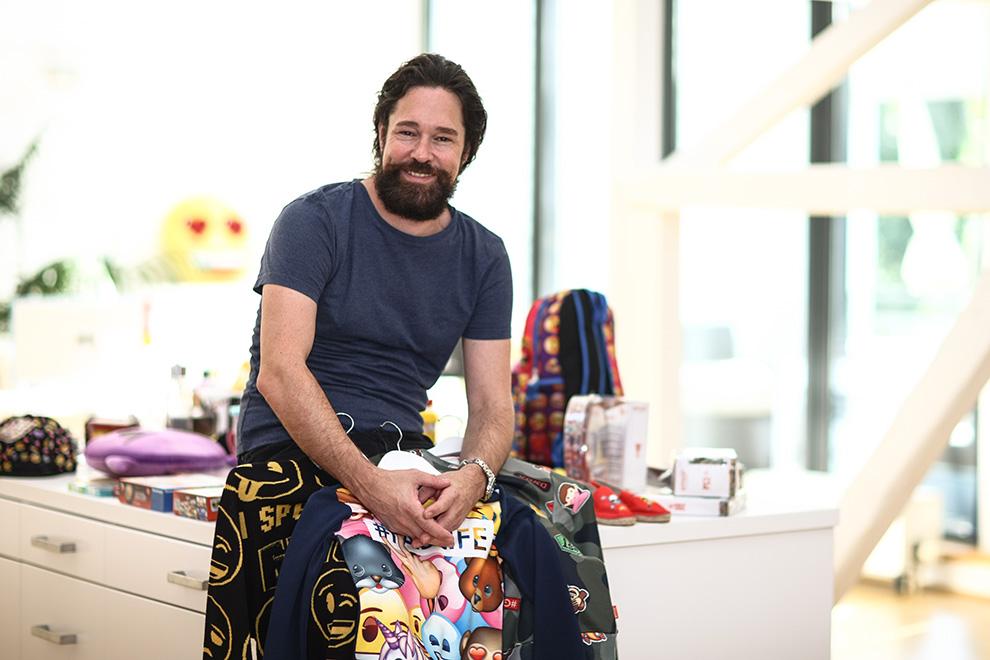 Основатель Emoji Company Марко Хюсгес