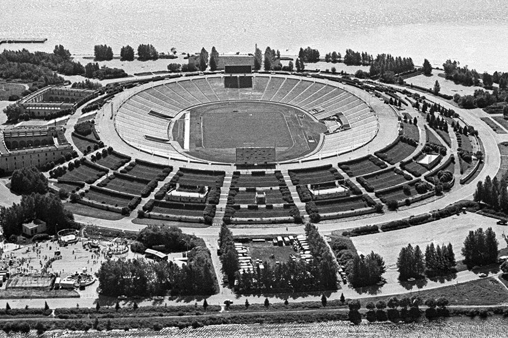 Стадион имени Сергея Мироновича Кирова.