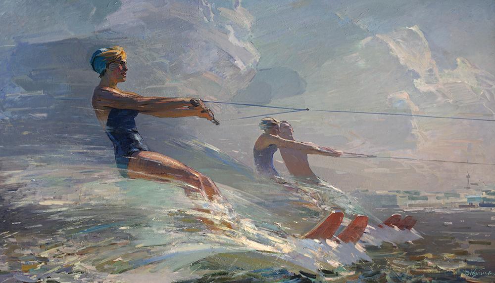Владимир «Кутилин Бегущая по волнам», 1959